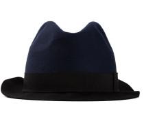 Hut mit Kontrastkrempe
