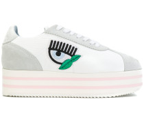 Logomania platform sneakers