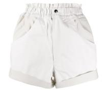 Oversized-Shorts in Colour-Block-Optik