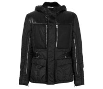 zip detail padded jacket