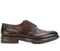 Oxford-Schuhe mit Stickerei
