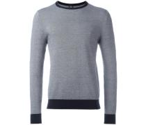 - Pullover mit Kontrasteinsätzen - men