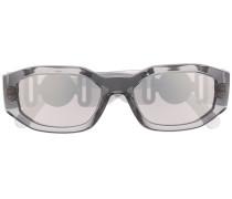 Sonnenbrille mit Logo-Schild