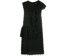 Asymmetrisches Kleid mit Fransen