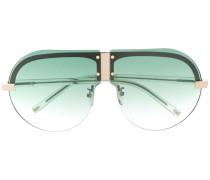 x Linda Farrow 'Tulip' Pilotenbrille