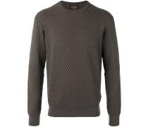 Pullover mit Webmuster - men