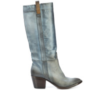knee-high cowboy boots