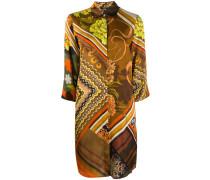 Hemdkleid mit seitlichem Schlitz