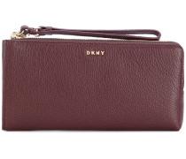 wrist-strap zipped wallet