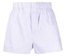 Shorts mit Streifen-Print