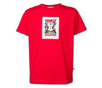 "T-Shirt mit ""Woest""-Print"