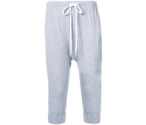 crop lo slung trousers