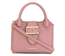 buckled strap tote