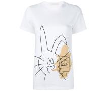 """T-Shirt mit """"Hase und SpongeBob""""-Print"""