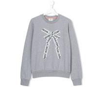 Sweatshirt mit Schleifen-Print