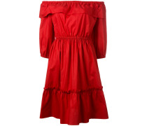 Schulterfreies Kleid - women - Baumwolle - 42