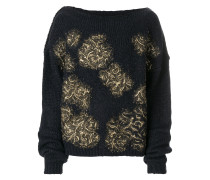 metallic detail jumper