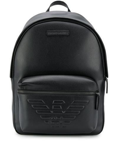 Rucksack mit Logo-Prägung