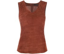 leather tank top