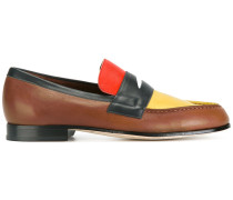 Penny-Loafer in Colour-Block-Optik - men