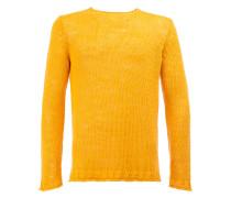 Gestrickter Pullover - men - Leinen/Flachs - 46