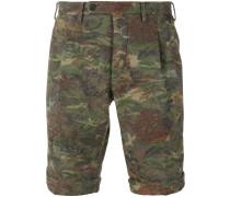 camouflage print shorts - men