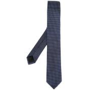 diamond dot pattern tie
