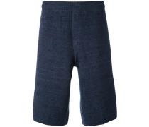 knit shorts - men