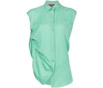 Drapiertes Hemdkleid