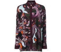 'Baroccoflage' Seidenhemd