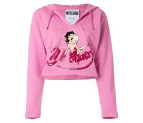 cropped Betty Boop hoodie