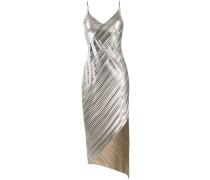 Kleid im Metallic-Look