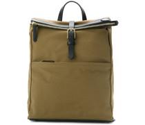 buckle detailed backpack