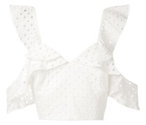 'Orchid' Cropped-Top