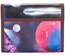 "Clutch mit ""Galaxy""-Print"