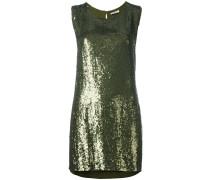 Minikleid mit Pailletten - women - Viskose/PVC