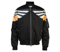 patch-detail bomber jacket