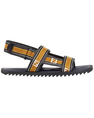 Mit Paypal Verkauf Online Fendi Herren logo sandals Günstig Kaufen Angebot Offizielle Günstig Online Online-Shopping Hohe Qualität Mit Paypal Freiem Verschiffen x44RuLqC
