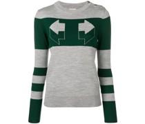 'Aggie' Intarsien-Pullover