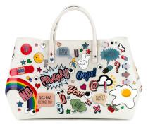 'Ebury' Handtasche mit Sticker-Print