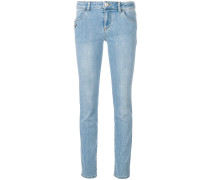 Schmale 'Safety Pin' Jeans