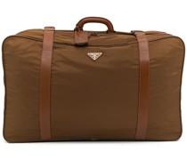 Koffer mit dreieckigem Logo