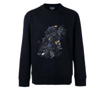 Sweatshirt mit Print - men - Baumwolle/Elastan
