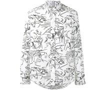 'Sketches' Hemd - men - Baumwolle - M