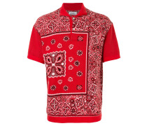 Bandana Jacquard polo top