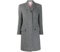 Tweed-Mantel mit Streifen