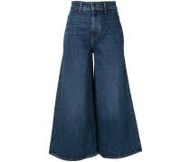 'Darcy' Jeans mit weitem Bein