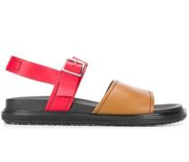 Sandalen in Colour-Block-Optik