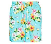Mojito-print swim shorts