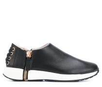 Slip-On-Sneakers mit seitlichem Reißverschluss